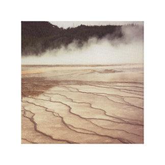 Toile Brume de Yellowstone