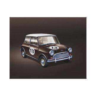 Toile Brun de Mini Cooper S