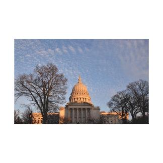 Toile Capitol d'état du Wisconsin