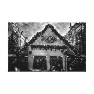 Toile Carpe tchèque de Noël