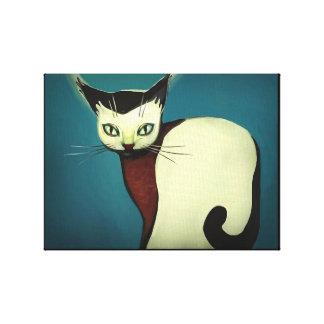 Toile Cat art