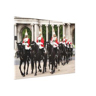 Toile Cavalerie royale de ménage, Londres, Angleterre