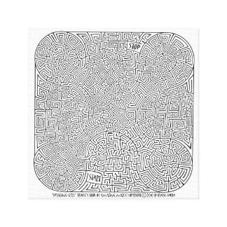 Toile Cellules de division - une création de Blaise