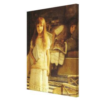 Toile C'est notre coin par monsieur Lawrence Alma Tadema