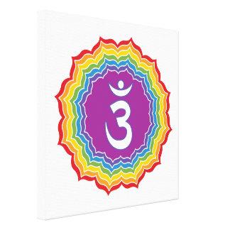 Toile Chakra de troisième oeil