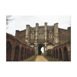 Toile Chambre de porte d'abbaye de Thornton - héritage
