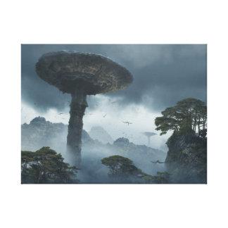 Toile Champignons géants de Skull Island