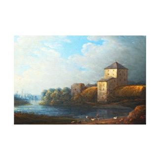 Toile Château de Karl Johan Fahlcrantz Nyköping