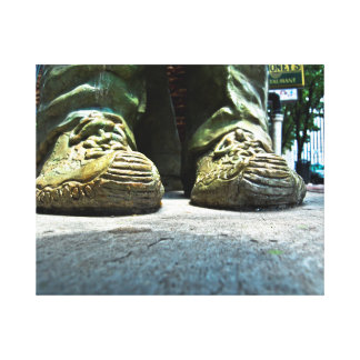 Toile Chaussures en pierre