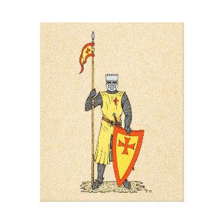 Toile Chevalier de croisé, début du 13ème siècle
