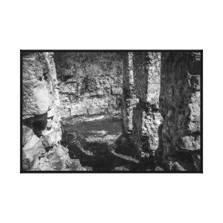Toile Chute du vieux moulin