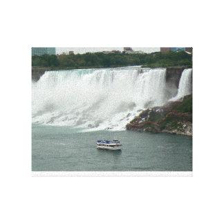Toile Chutes du Niagara du côté canadien