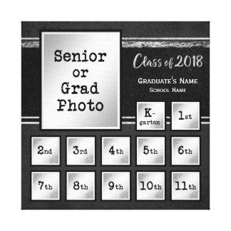 Toile Classe de souvenir de la photo 2018 K-12