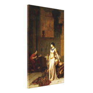 Toile Cléopâtre avant César