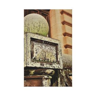 "Toile ""Cleveland 20140104 II"" - art de photo -"