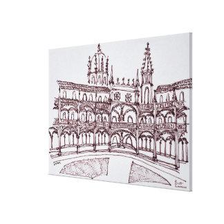 Toile Cloître   Lisbonne, Portugal de monastère de