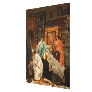 Toile Collecteur d'Alma-Tadema | à l'heure d'Augustus