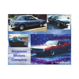 Toile Collecteurs américains de voiture de muscle