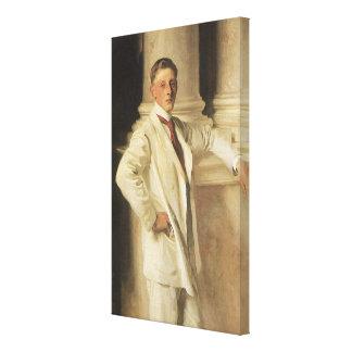 Toile Comte de Dalhousie par Sargent, art vintage de