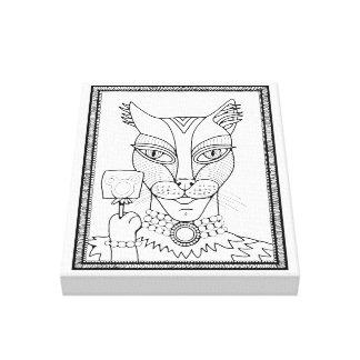 Toile Conception lucette de souris de Kitty de mascarade