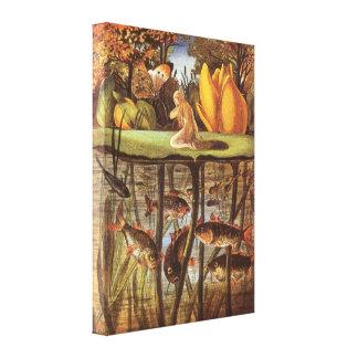 Toile Conte de fées vintage de Thumbelina, Eleanor Vere