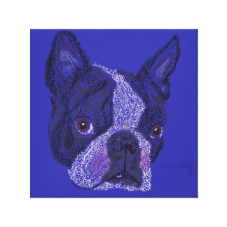 Toile Copie de Boston Terrier
