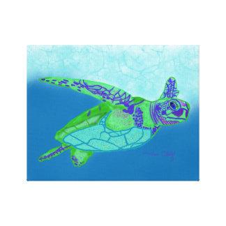 Toile Copie de tortue de mer