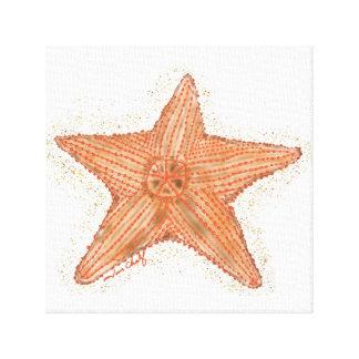 Toile Copie d'étoiles de mer