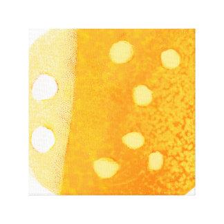 Toile Copie pointillée d'Orange-Insecte