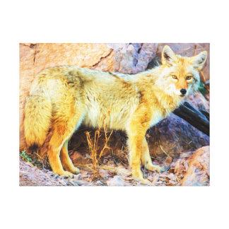 Toile Coyote de Yellowstone