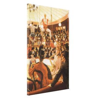Toile Dames sportives (aka amant de cirque) par James