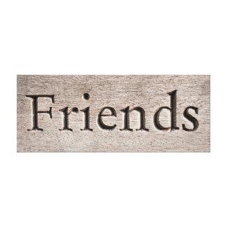 Toile d'amis