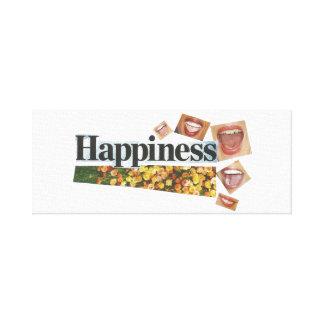 Toile de bonheur
