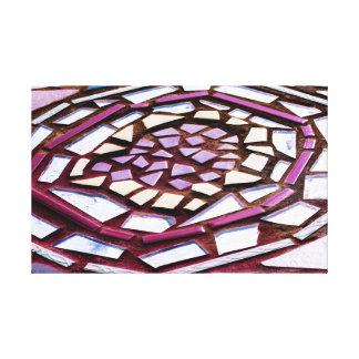 Toile de cercle de mosaïque