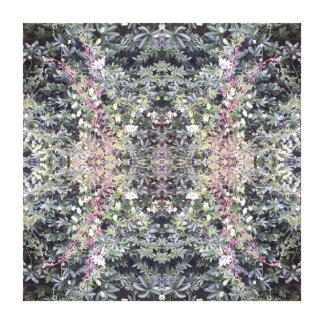 Toile de fractale de photo de fleur de la