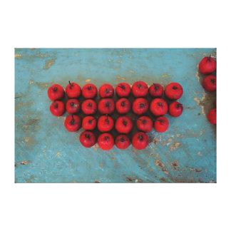 Toile De fruits toujours art rouge de la vie