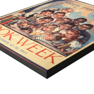 Toile de la semaine du livre de 1944 enfants