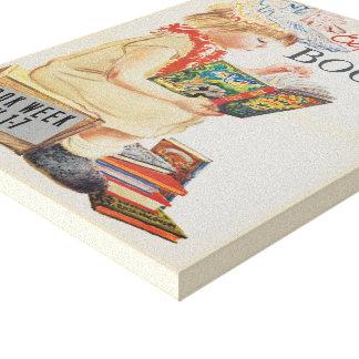 Toile de la semaine du livre de 1959 enfants
