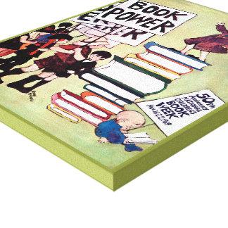 Toile de la semaine du livre de 1969 enfants