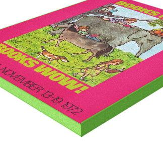Toile de la semaine du livre de 1971 enfants