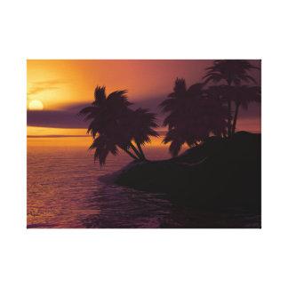 Toile de lever de soleil
