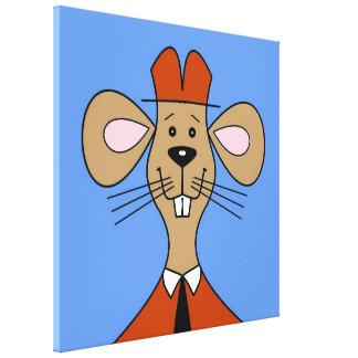 Toile de souris de garde forestière
