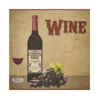 Toile de vin toiles