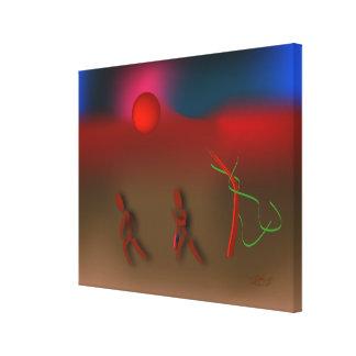 Toile ~ de Zinglees orageux
