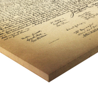 Toile Déclaration d'indépendance vintage