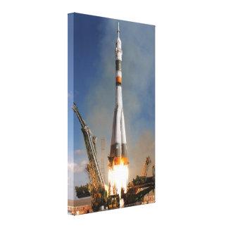 Toile Décollage de Soyuz de Russe - 12 octobre 2008