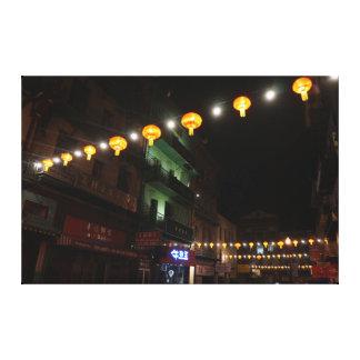 Toile des lanternes #3 de San Francisco Chinatown