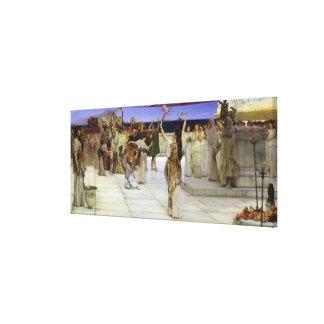 Toile Dévouement d'Alma-Tadema |A au Bacchus