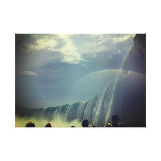 Toile d'image de chutes du Niagara Toiles