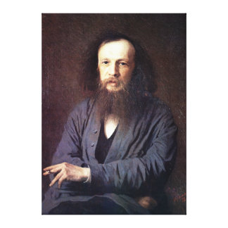 Toile Dmitri Ivanovich Mendeleev par Ivan Kramskoy